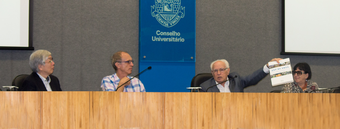 Master class with José Goldemberg - The 80 years of the University of São Paulo: a critical review - April 20, 2015