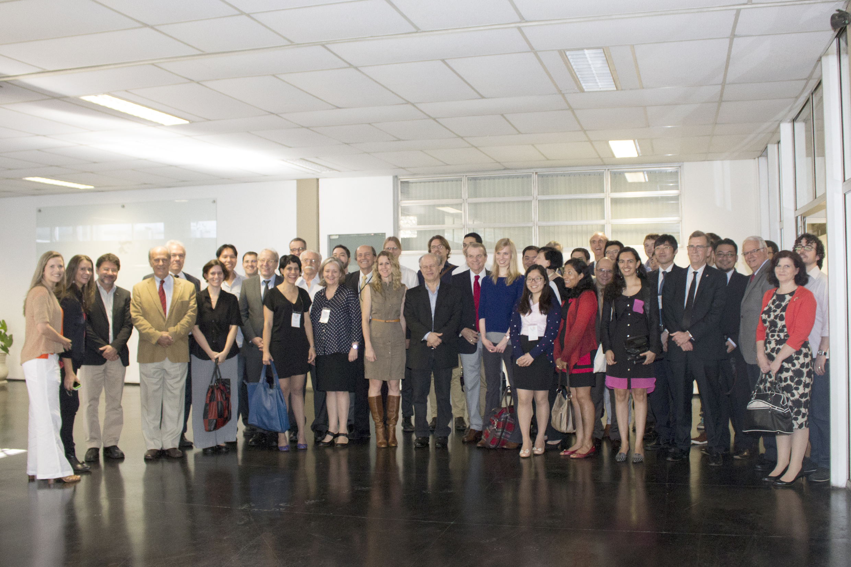 Intercontinental Academia group with minister Renato Janine Ribeiro - April 24, 2015