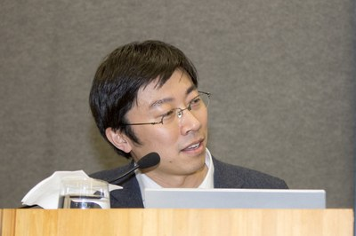 Dapeng Cai's presenting the Nagoya University's Institute for Advanced Research - April 27, 2015