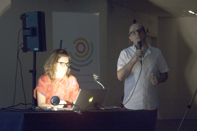 NuSom performance coordinated by Professor Fernando Iazzetta - April 18, 2015