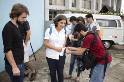 Ana Lydia Sawaya at the CREN - tour: peripheries <> centralities, April 19, 2015