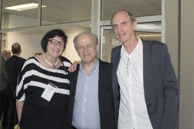 Regina Markus, Renato Janine Ribeiro and Martin Grossmann