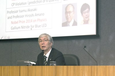Talk with Hideyo Kunieda April 21, 2015