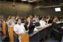 Participants during Carolina Escobar talk